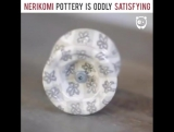 Nerikomi pottery is oddly satisfying