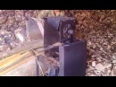 измельчитель дров для газогенератора, ширина ножей 255 мм.