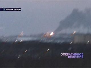 ВИДЕО: Во Фрунзенском районе вспыхнул большой пожар