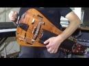 Andrey Vinogradov Hurdy gurdy Uzh I Ya Li Moloda Tonkopriaditsa Byla