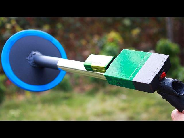 Как сделать мини металлоискатель своими рукамиHow to make a DIY metal detector