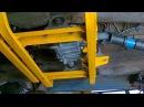 установка подрамника раздатки нива