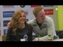 Johannes Thingnes Bø Gabriela Koukalova joke flirt VM Hochfilzen 2017