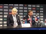 Ржига и Знарок зажгли на пресс-конференции