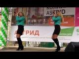 Елизавета Родина и Анна Родина выступление в Колпино -Грустить не надо!