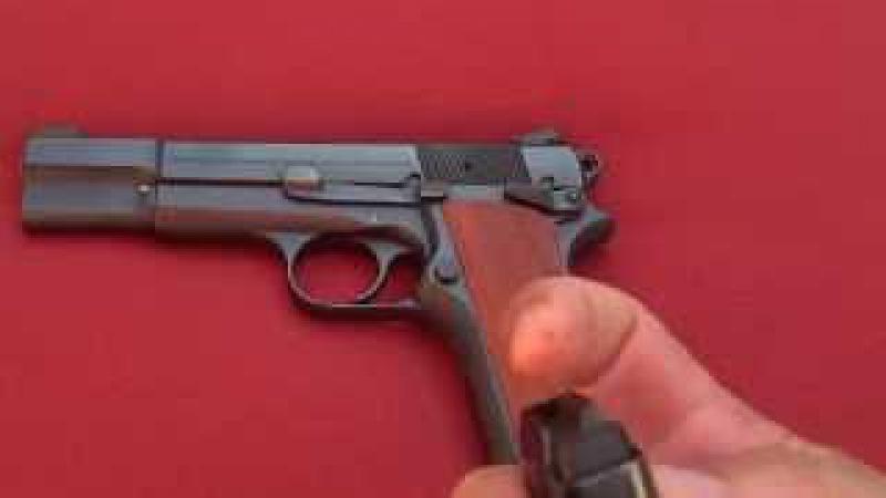 Браунинг Хай Пауэр 9мм Новак. Browning HP 9mm.