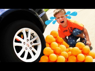 Bad Baby Вредные Детки РАЗДАВИЛИ ЕДУ Snack was crushed under car Funny kids Video paw patrol games