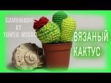 ВЯЗАНИЕ КРЮЧКОМ - КАКТУС  Crochet cactus