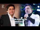 Ilhom Farmonov va Bojalar - Binafsha | Илхом Фармонов ва Божалар - Бинафша (music version)