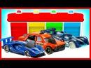 Мультики для детей - Учим цвета и виды МАШИНОК! Мультфильмы для детей. Машинки для самых маленьких!
