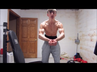 16y/o Ripped Nick: Back With Lean Muscle Gains (HD)