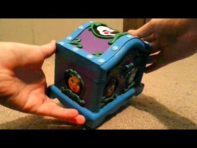CUSTOM Five Nights at Freddy's Music Box: Real Working Music Box Plays Grandfather's Clock