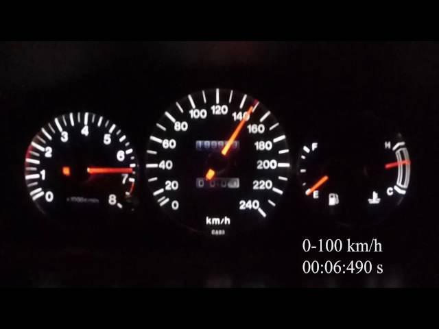 Mazda Xedos 6 KLZE 2.5 V6 Acceleration