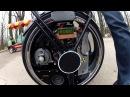 Самодельный гироцикл Handmade gyroscooter