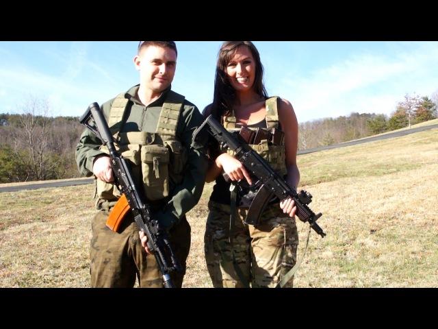 Ash AKS-74u Vs JMac AK-105 - JMac Customs