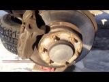Ремонт на коленке Prado 95. Замена Тормозных Колодок.