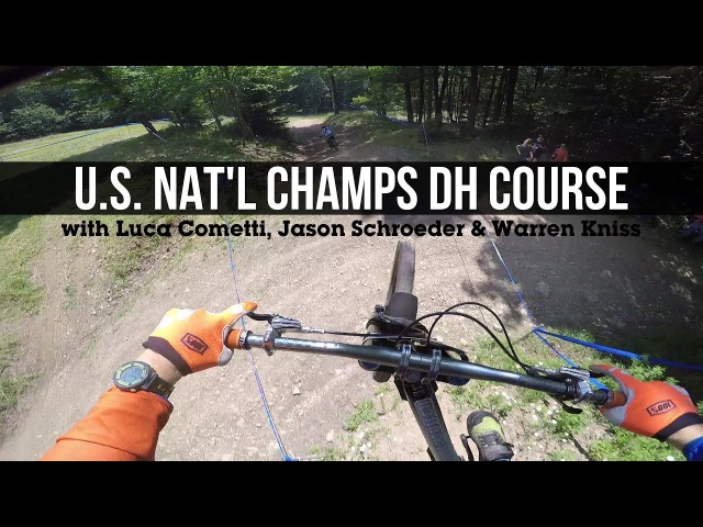 PINNED POV! U.S. Nat'l Champs Pro DH Course at Snowshoe, WV