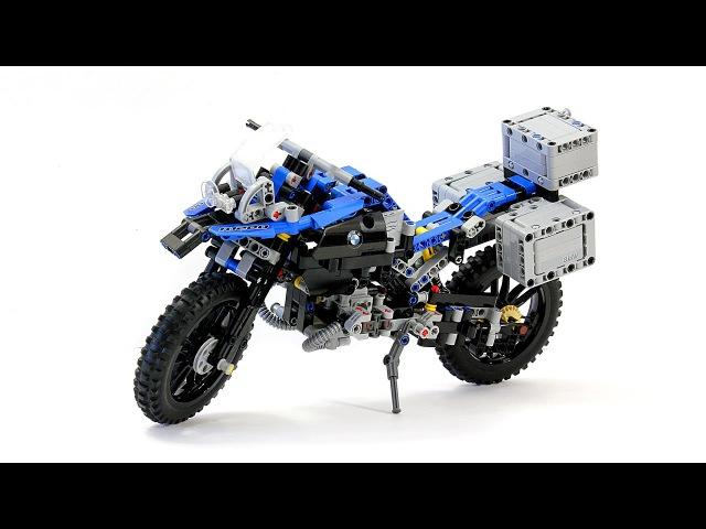 Лего Техник 42063 Мотоцикл BMW R1200 GS – Обзор / Lego Technic 42063 Motorbike - Review