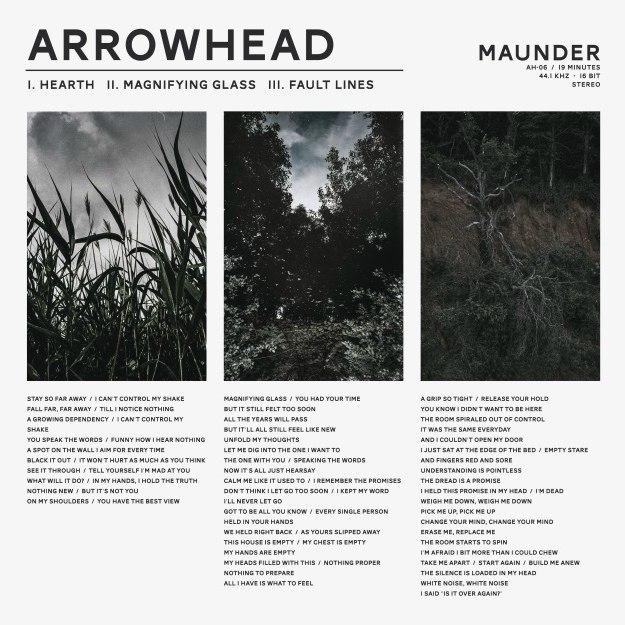 Arrowhead - Maunder [EP] (2017)
