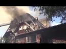 Пожар в доме престарелых в Красноярске