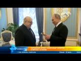 Владимир Путин поздравил Александра Калягина с 75 ти летием