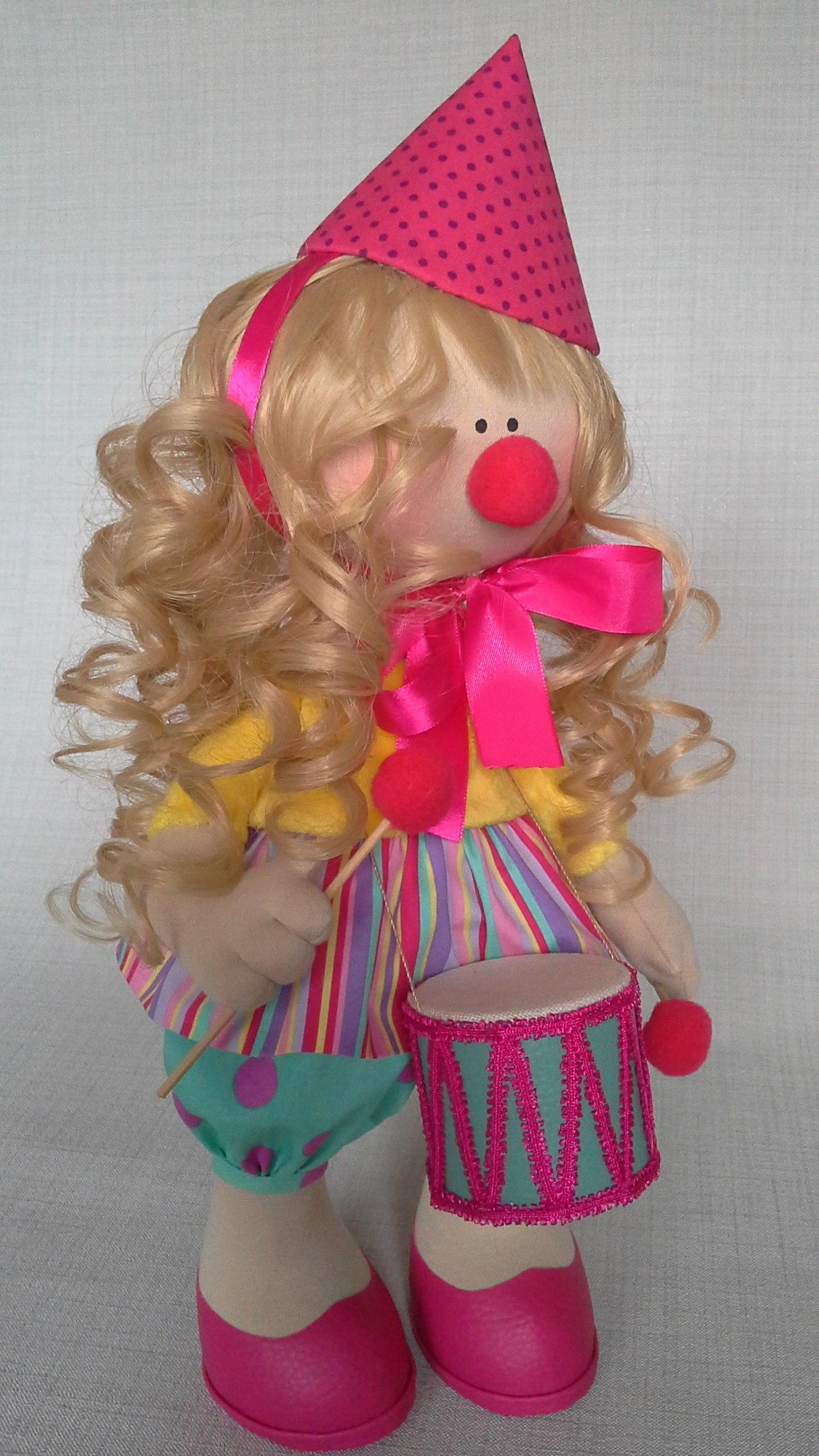 кукла клоун