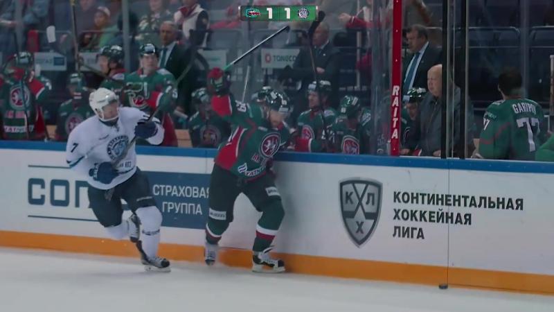 Ак Барс - Динамо Минск 35 (26092016) Ak Bars Kazan vs Dinamo Minsk 35 KHL КХЛ
