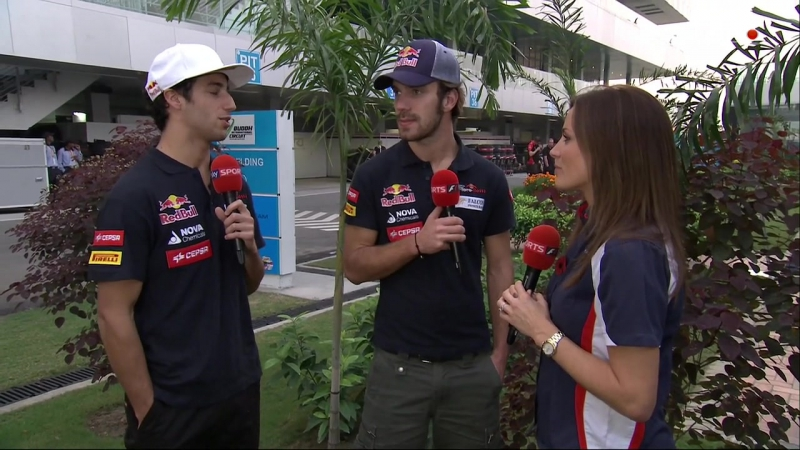 Гран-при Индии 2012. Pre-Qualifying [Sky Sports]