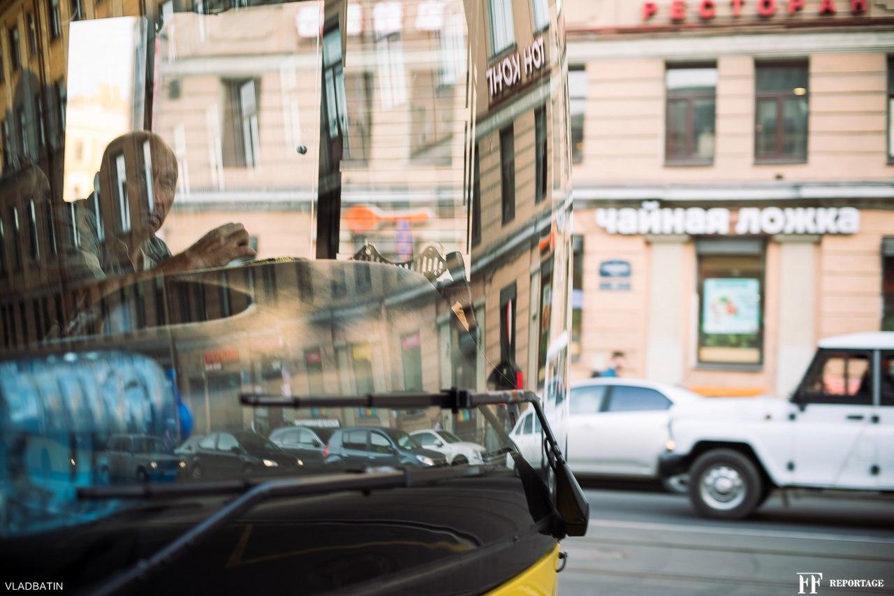 сенная, санкт петербург, отражение, автобус