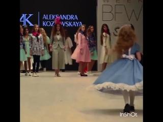 BFW AFA Mademoiselle Adr'i  дизайнер Александра Козловская коллекция Алиса в стране Чудес