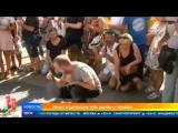 Каталонский кошмар_ жители Барселоны вышли на шествие в память о жертвах теракта