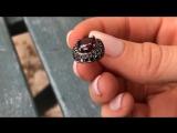 Огненный гранат и чёрные бриллианты