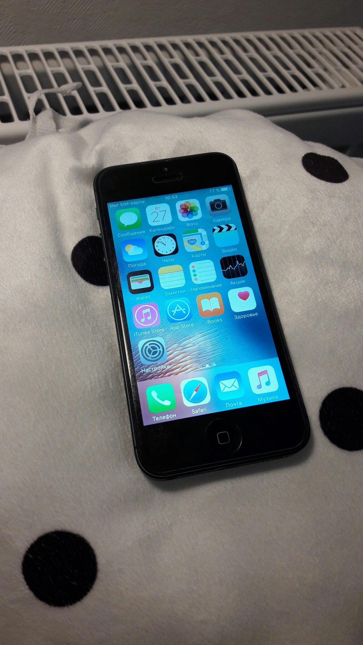 Продаю iPhone 5 16Gb Black