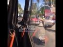 ДТП с автобусом на Зорге 29 05 17 Это Ростов на Дону