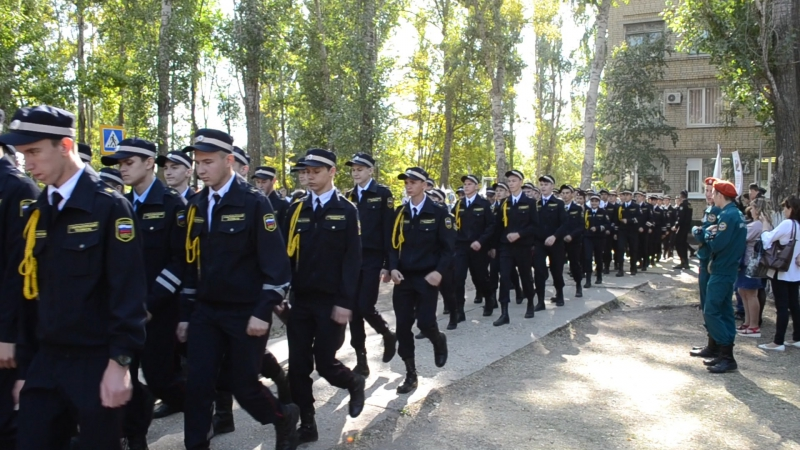 Выход на клятве кадетов ГАЭмТ 2017