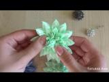 Лотос Канзаши_Интересный Лепесток Канзаши_Lotus kanzashi _ Interesting petal kan