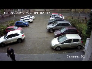Подвезла подругу)