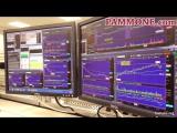 Девушка трейдер на фондовой бирже. Азиатка торгует акциями nyse1832