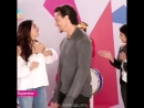 Тайгер и Шраддха на шоу Yaar Mera Superstar во время промоушена Baaghi/Бунтарь.