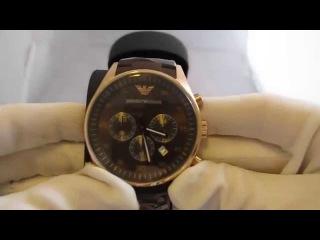 Обзор мужских наручных Emporio Armani Sport Chronograph AR5890 Купить часы