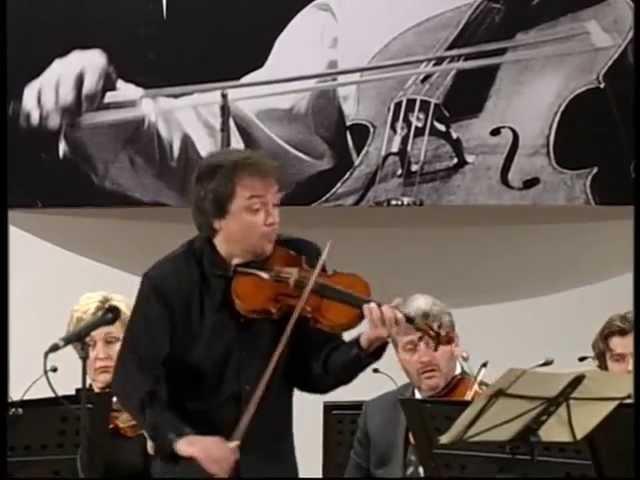 Sergej Krylov and Lithuanian Chamber Orchestra, Bach violin concerto a-moll BWV 1041