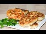 Рыбные котлеты с курицей (