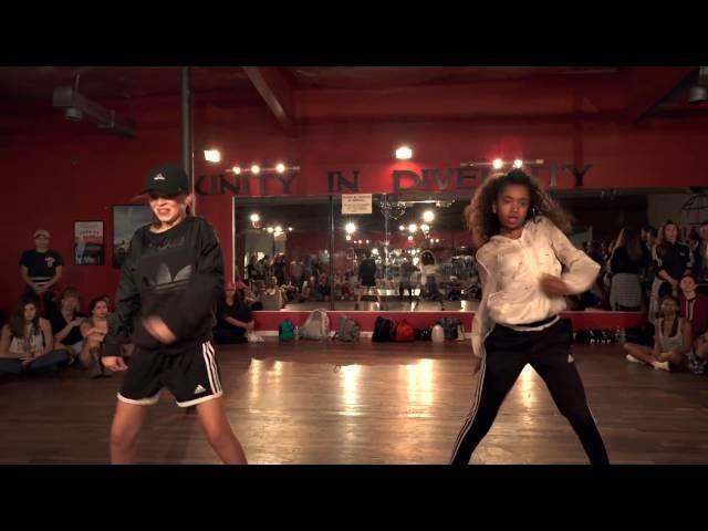 Taylor Hatala Kyndall Harris dancing Girls Like Choreography by Eden Shabtai