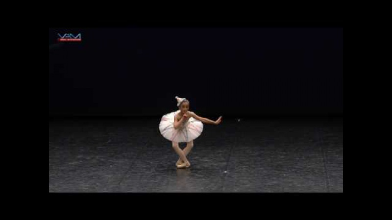 YAGP 2017 - Paris Semi-Finals. Junior Finalist 102 - Anastasiya Popova, variation Harlequinade