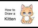 How to Draw a Cartoon Kitten