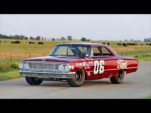 Ford Galaxie 500 Club Victoria NASCAR Race Car 1964