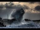Жуткие кадры штормового отлива с острова Ки-Ларго, штат Флорида США, 11-10.09.2017 Ура...