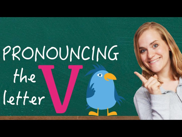 German Lesson (18) - Pronouncing the Letter V - A1
