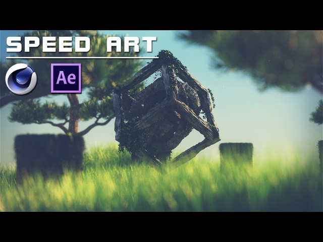 SpeedArt | Ancient Anomaly [Cinema 4D After Effects] FullHD 60fps [Timelapse]
