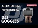 DJI Goggles. Активация и обновление прошивки